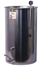Speidel Variable Capacity Stainless Tank - 29 gallons (110 liters) - Rubber LId Gasket and Stainless valve