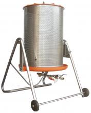 Water Bladder Wine Press - Stainless Cage - 47 gal - 180 L - Speidel